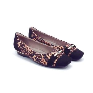 PICCADILLY SAPATO CONFORT ANIMAL PRINT